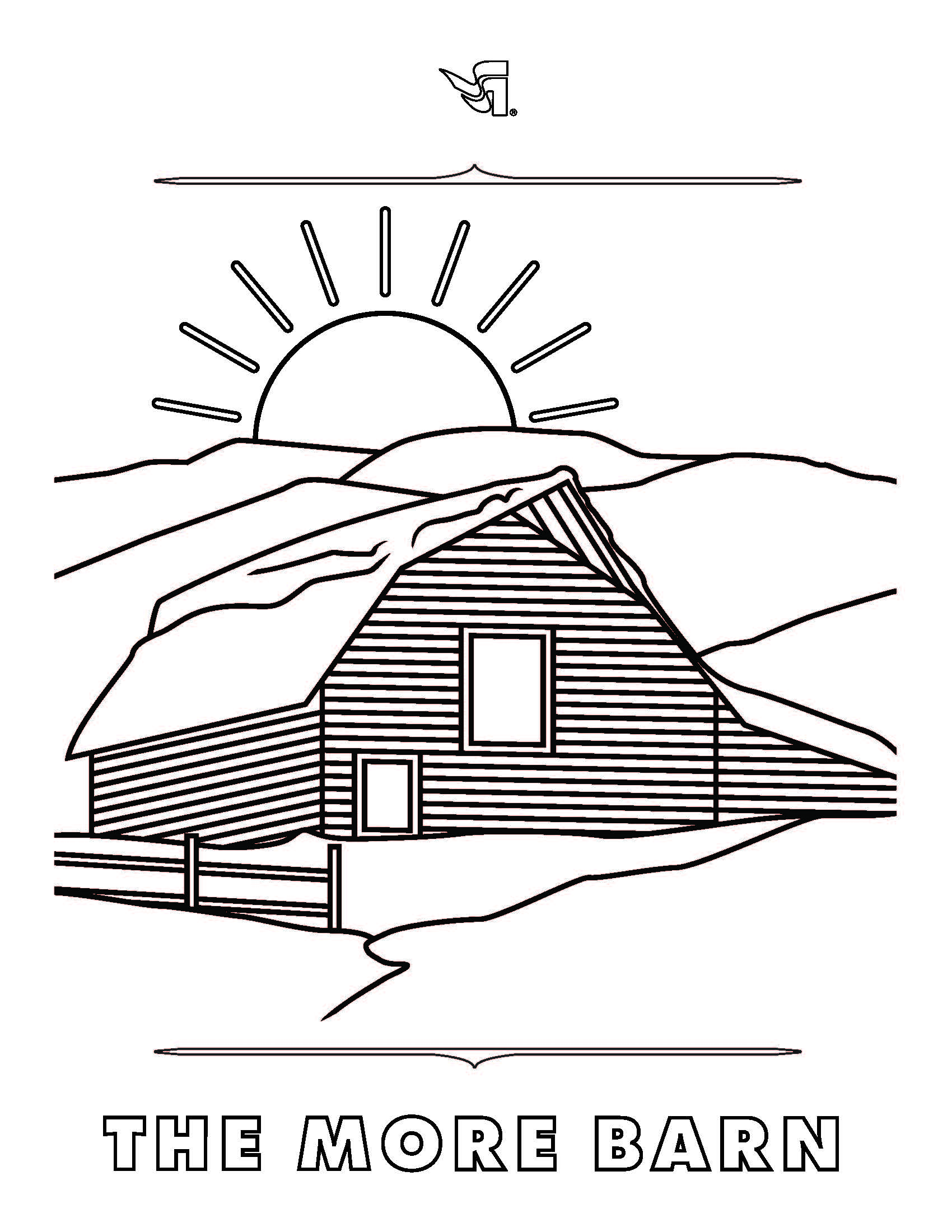 Steamboat Mountain Resort Coloring Book